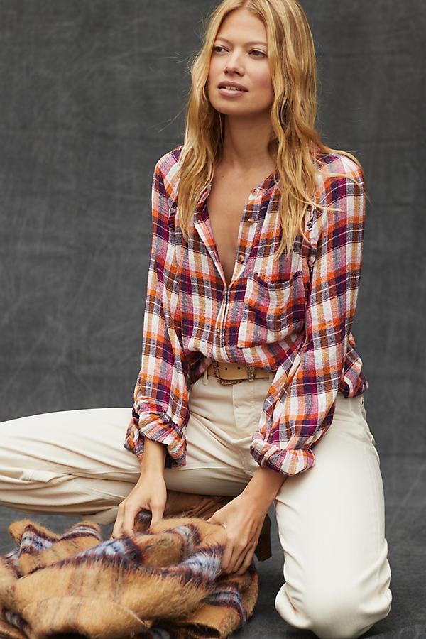 Pilcro Breezy Buttondown Shirt