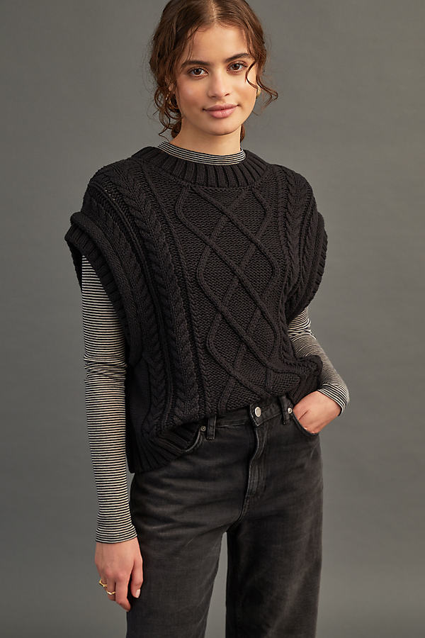 Selected Femme Piper Knitted Vest