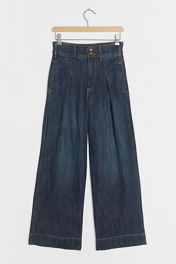 Pilcro Ultra High-Rise Pleated Trouser Jeans