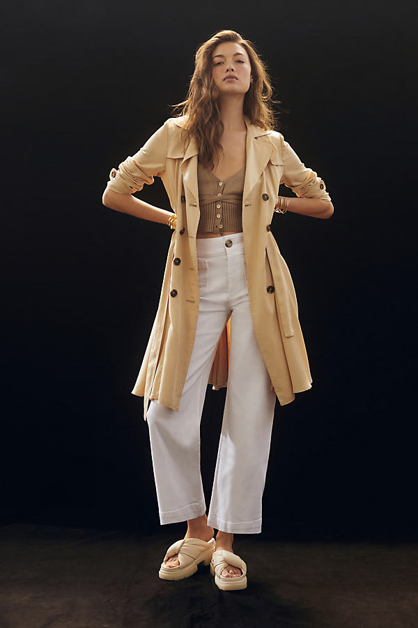 The Daytripper Cropped Wide-Leg Jeans