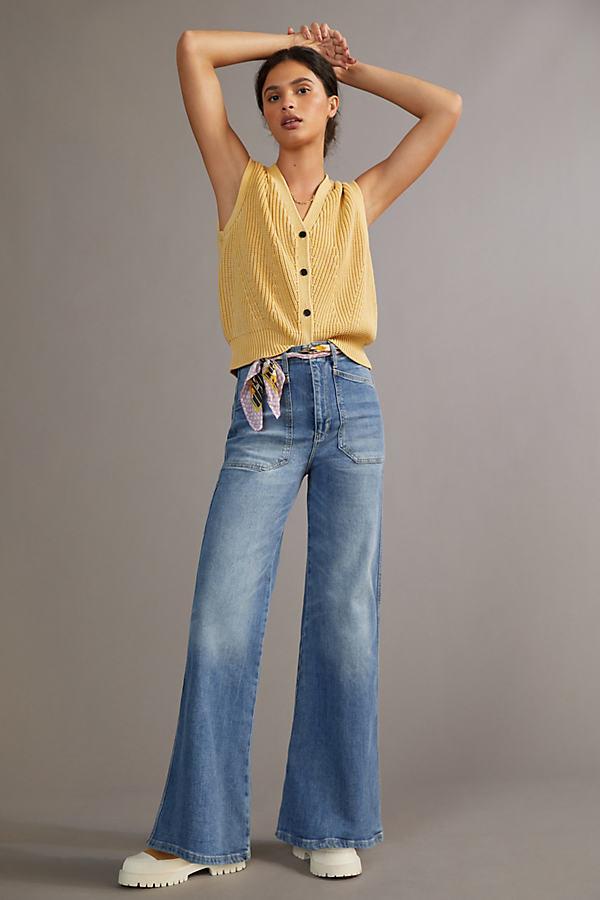 Pilcro The Carpenter Wide-Leg Jeans