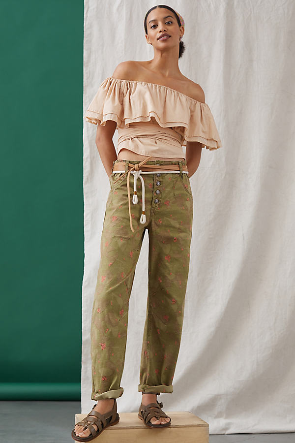 Pilcro The Arch Tapered Trousers