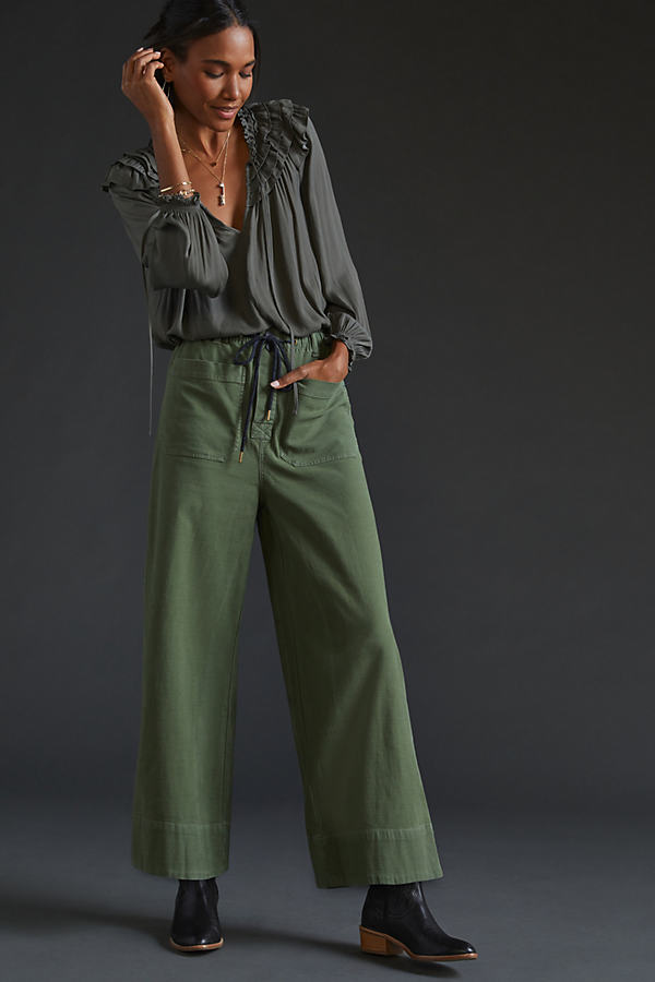 Pilcro The Pilot Pull-On Trousers