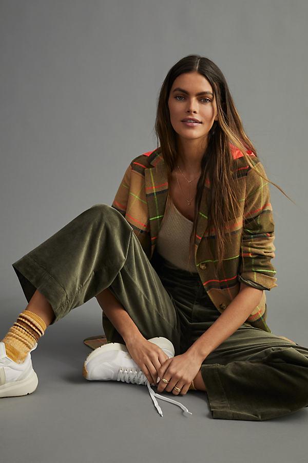 Maeve Colette Corduroy Wide-Leg Trousers