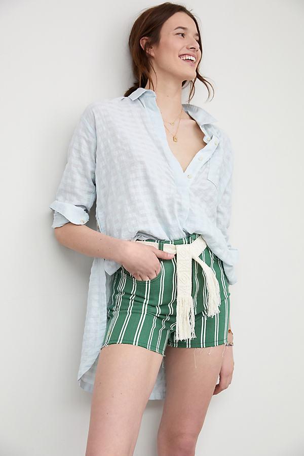 Pilcro Striped Shorts