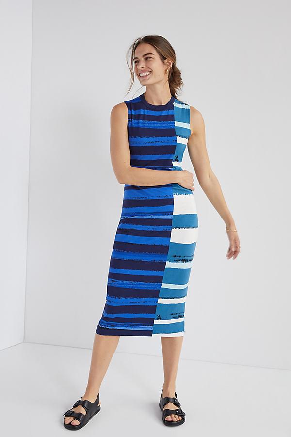 Corey Lynn Calter Striped Midi Dress
