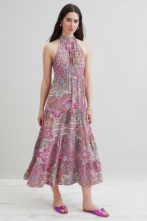 Kachel Orla Printed Midi Dress