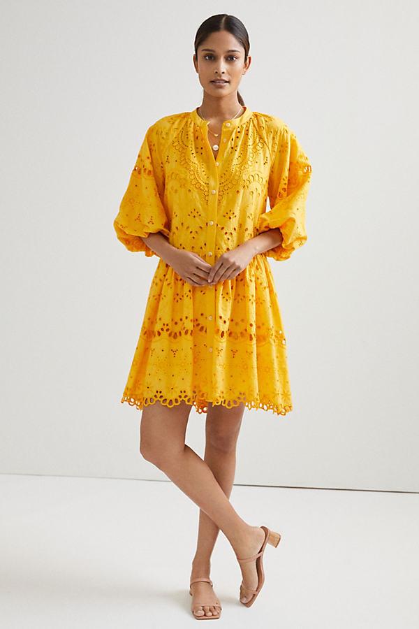 Tallulah Eyelet Mini Dress