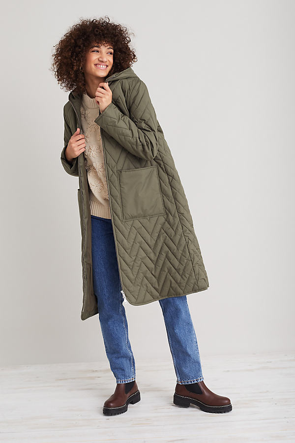 Selected Femme Nora Quilted Coat