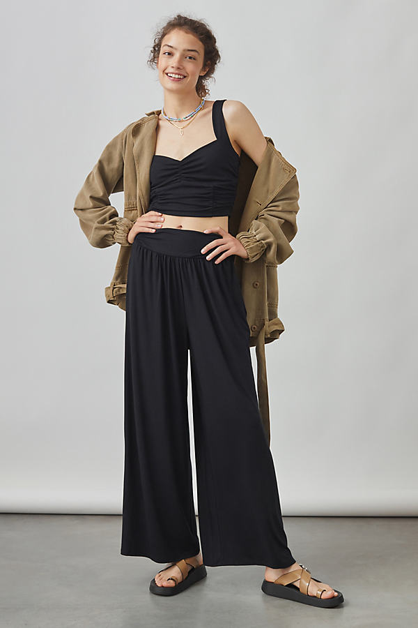 Maeve Wide-Leg Trouser Set
