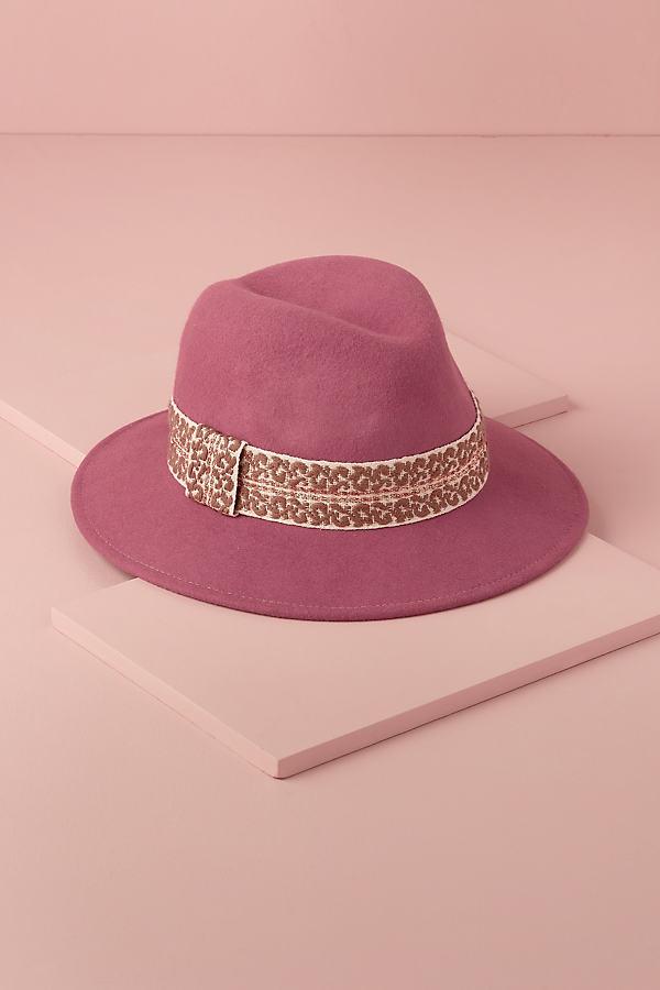 Rose Pink Fedora