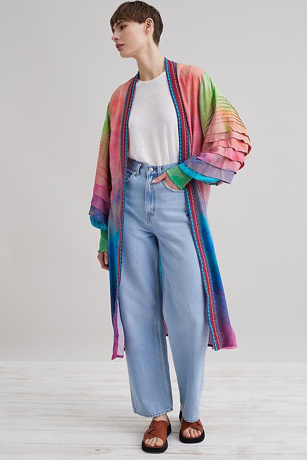 Bl-nk Print Kimono