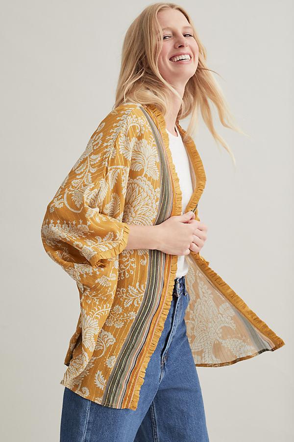 Kimono métallisé Metallic Kimono - Bl-nk - Modalova