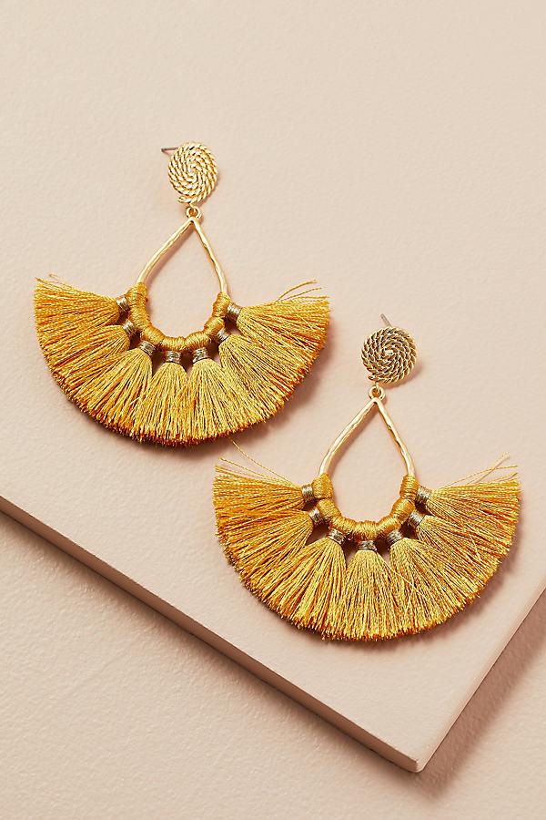 Tasselled Drop Earrings