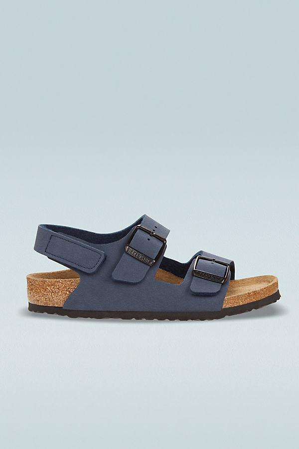 Birkenstock Kids Milano Suede Sandals