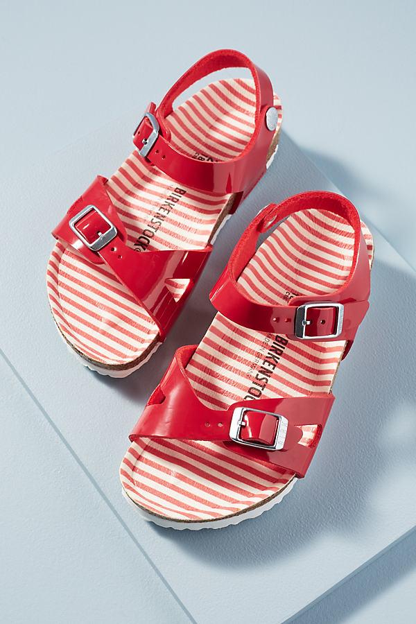 Birkenstock Rio Zebra-Print Kid's Sandals