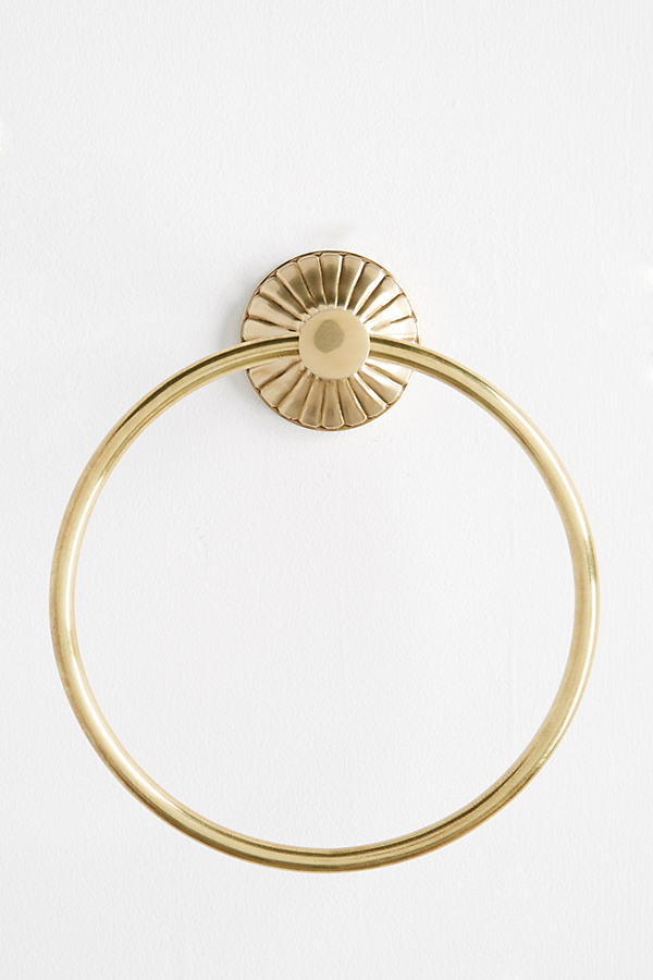 Fluted Towel Ring