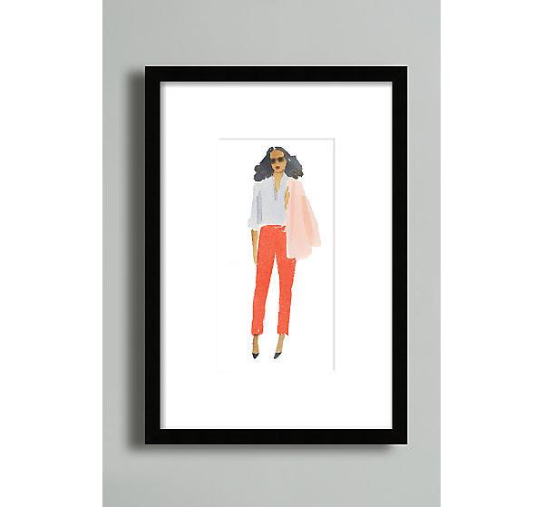 Pink Jacket Wall Art