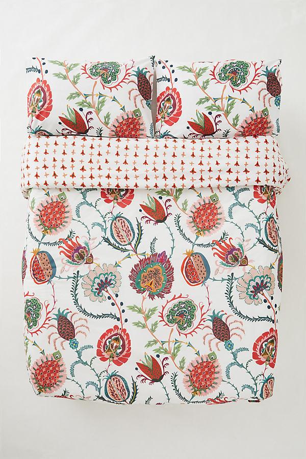 Kerin Floral Double Duvet Set
