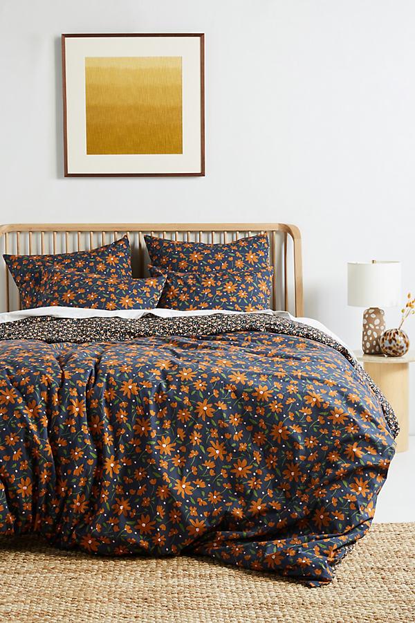 Agnes Organic Percale Duvet Cover