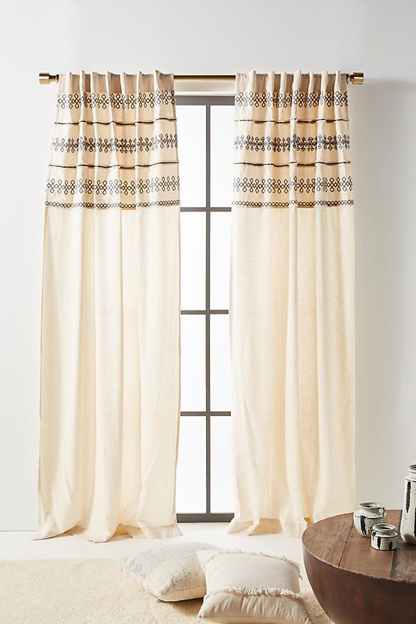 Embellished Mischa Curtain