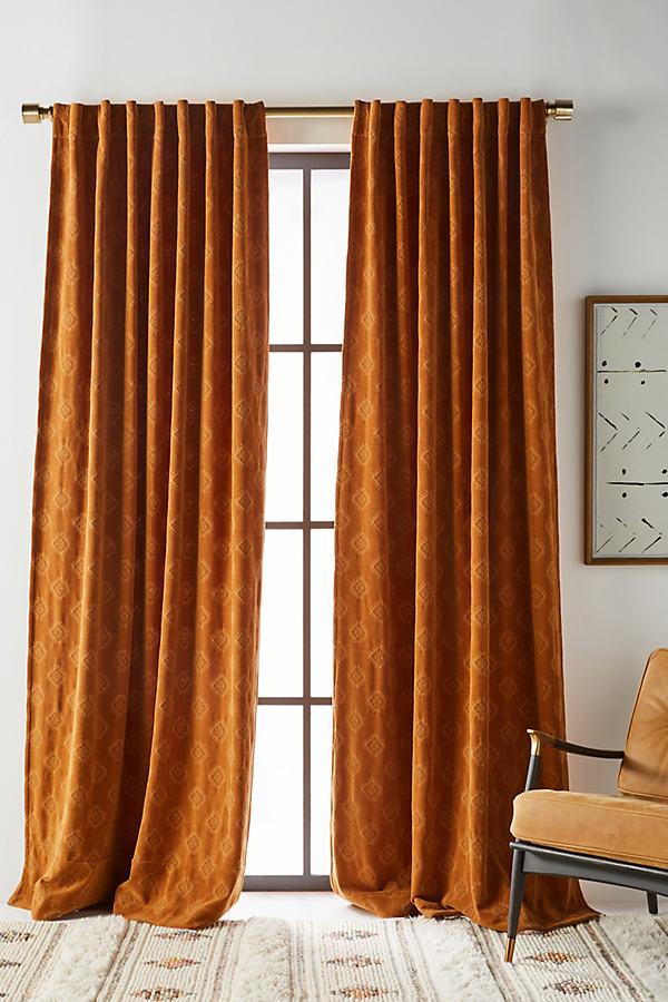 Jacquard Chenille Curtain