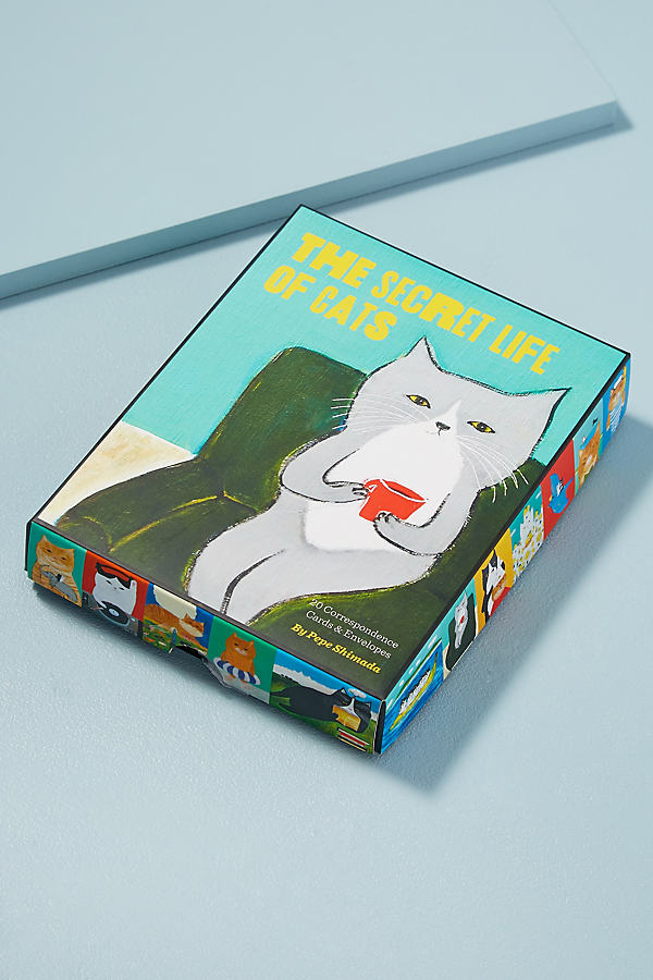 The Secret Life of Cats Correspondence Cards