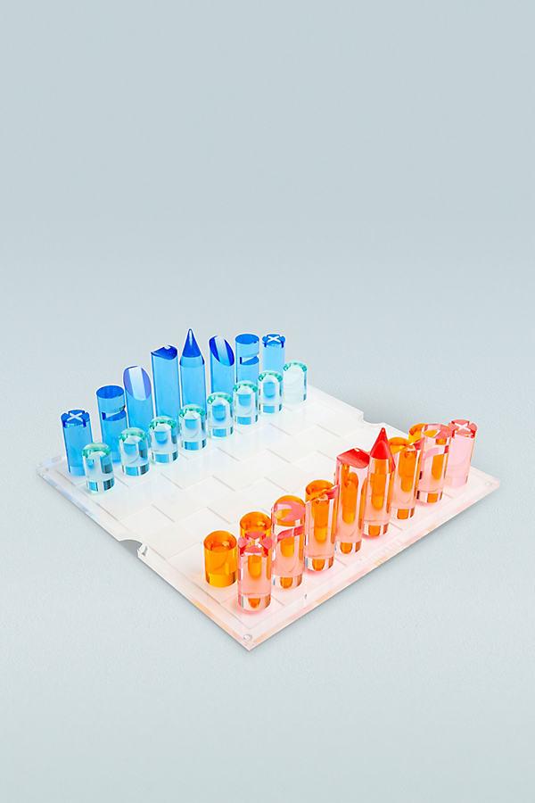 Jeu d'échecs et de dames en acrylique - Sunnylife - Modalova