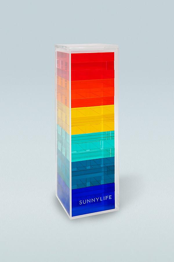 Jeu de tour à empiler en acrylique - Sunnylife - Modalova