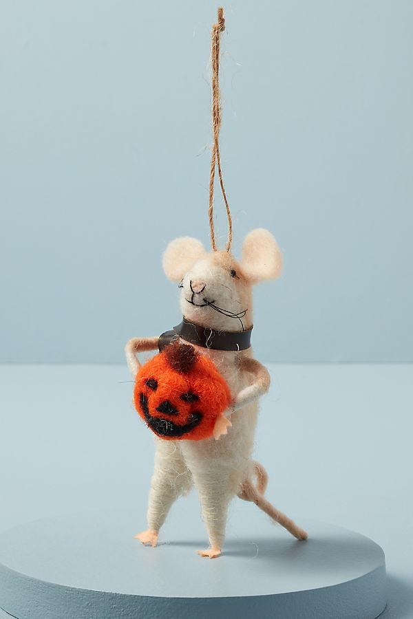 Mouse Pumpkin Decoration