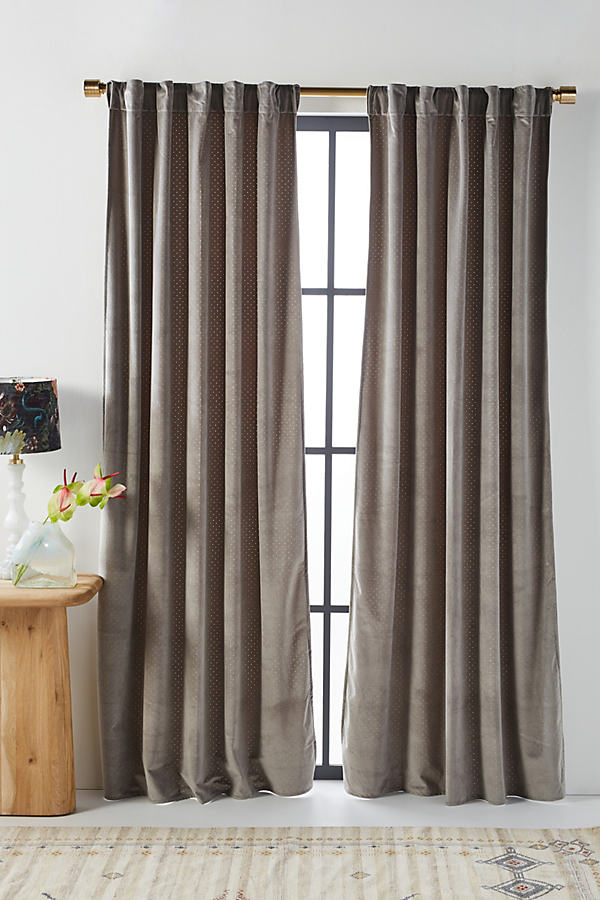 Louise Velvet Curtain