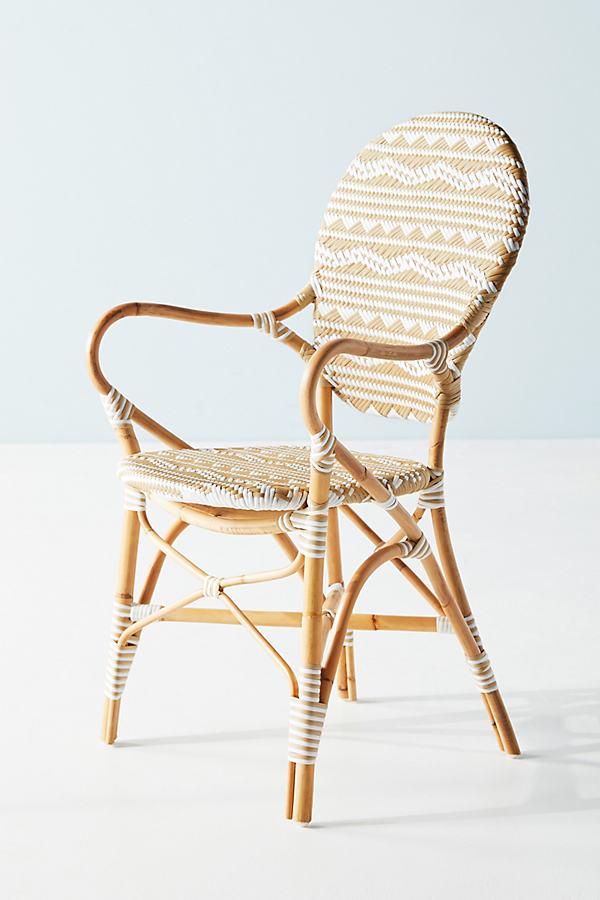 Amalfi Striped Indoor/Outdoor Bistro Chair