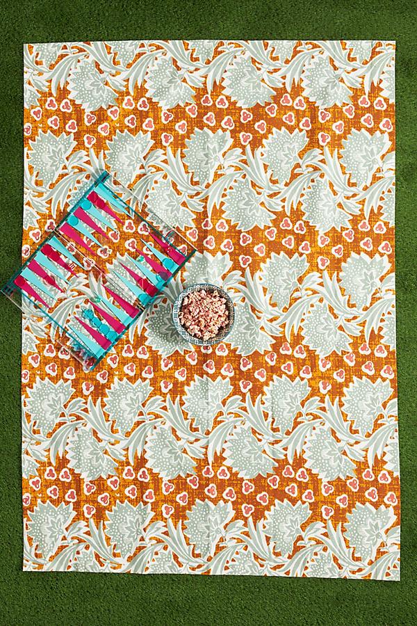 Sunny Florals Picnic Blanket
