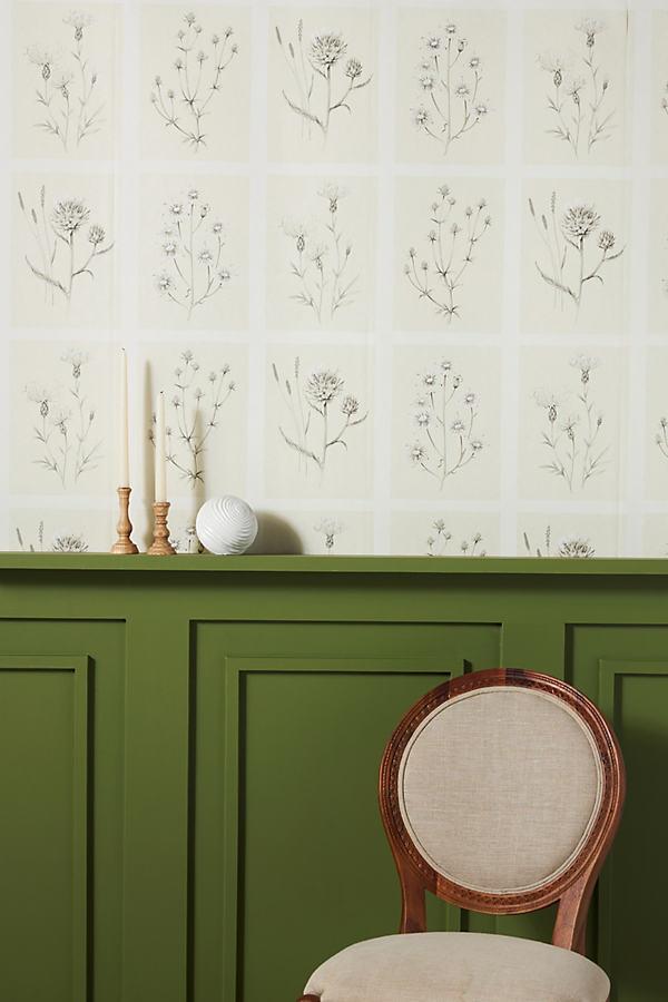 Sanderson Little Thistles Wallpaper