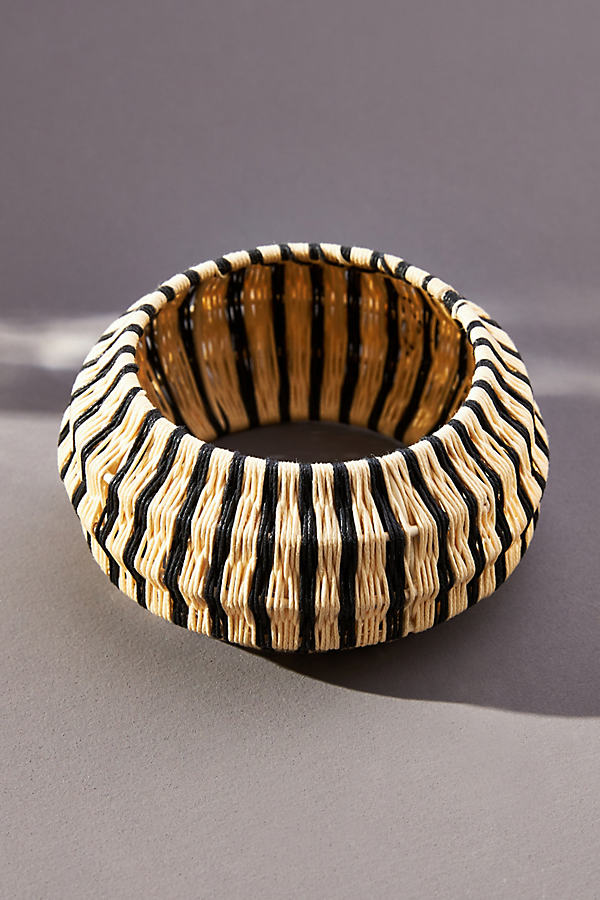 Bracelet jonc tissé\u00a0Rosamund - Serefina - Modalova