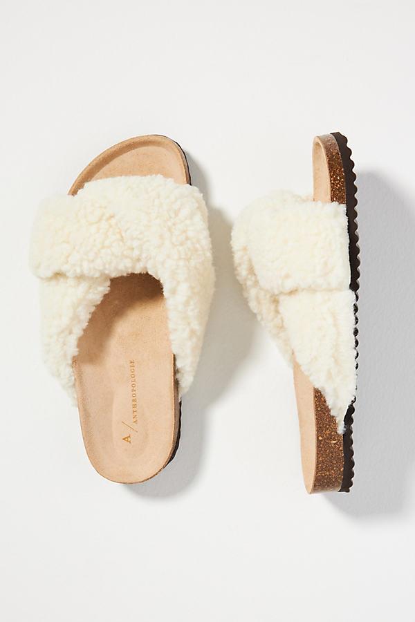Sherpa Slide Sandals