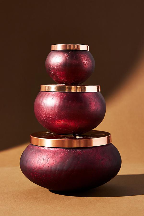 Signature Glass Candle