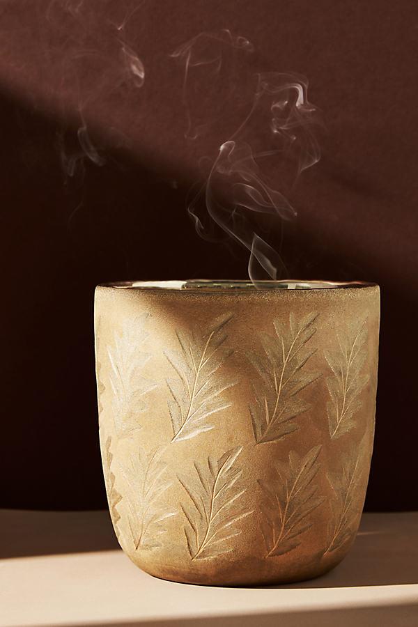 Autumn Splendor Large Glass Candle