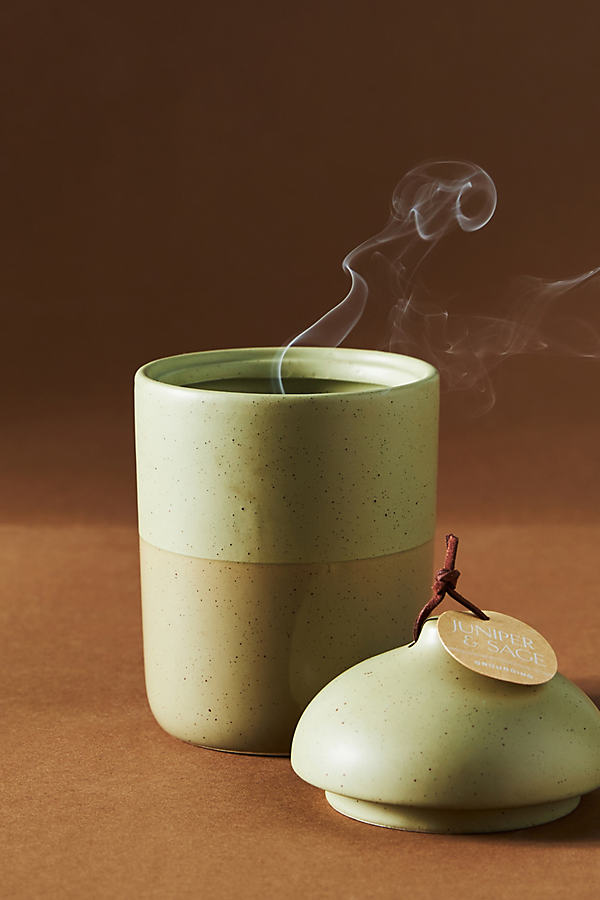 Serenity Lidded Ceramic Candle