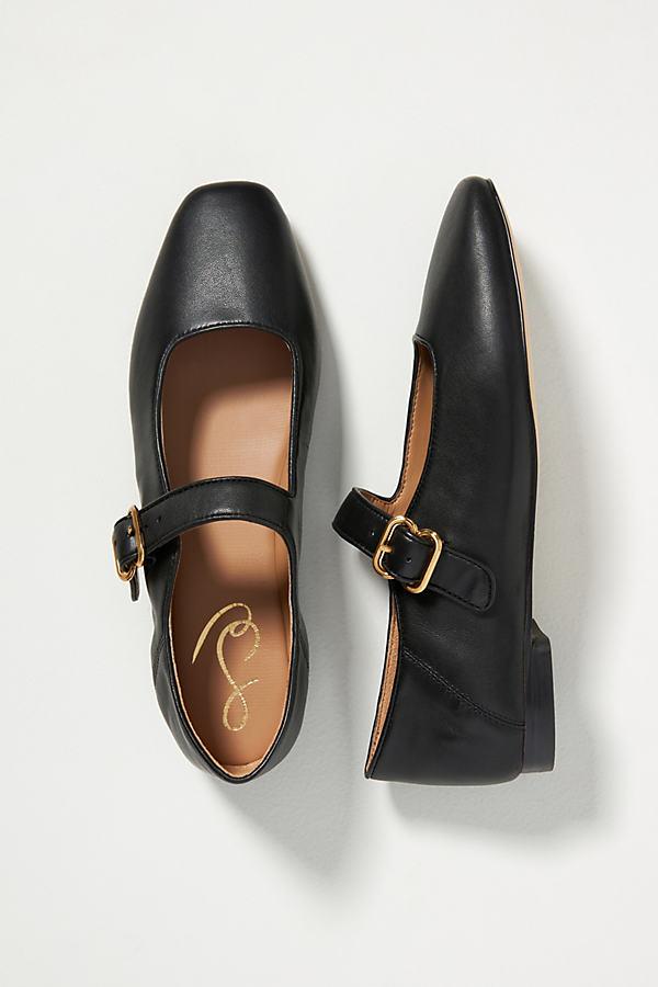 Sam Edelman Women's Mary Jane Michaela Flats Women's Shoes In Black