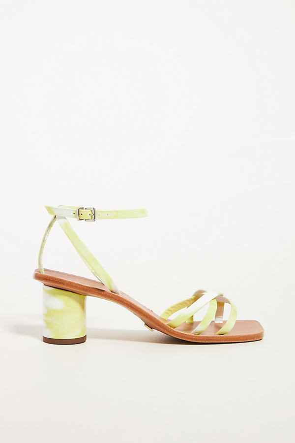 Strappy Round-Heeled Sandals